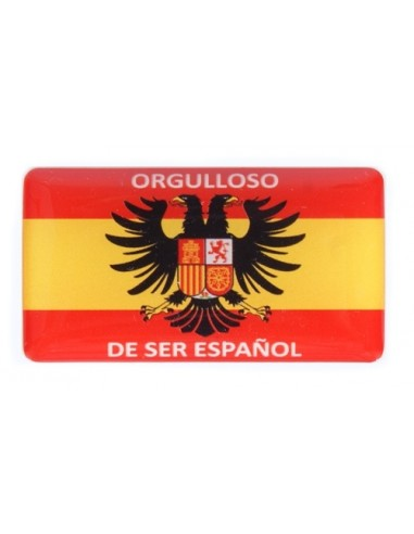 Pegatina Orgulloso de Ser Español