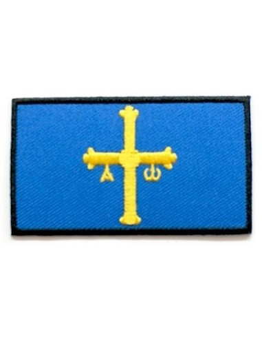 Asturias Embroidered Patch