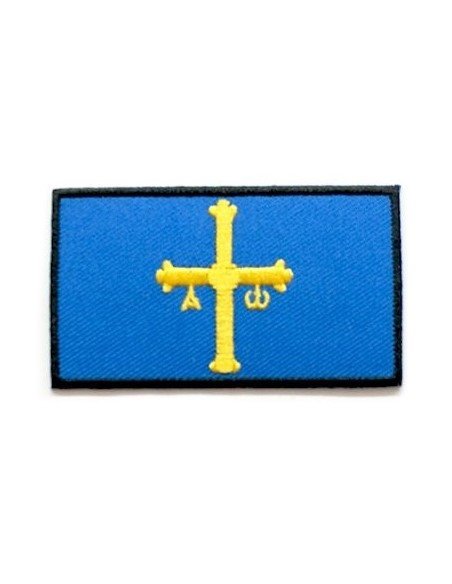 Embroidered patch Asturias