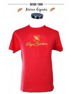 Catholic Kings T-Shirt - Red