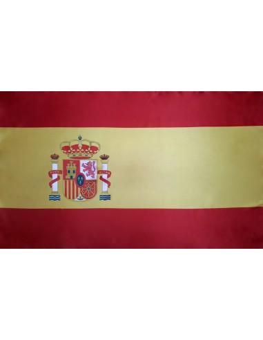 Bandera España Actual Estándar en Satén