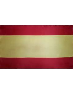 Bandera de España Sin Escudo Estándar en Satén