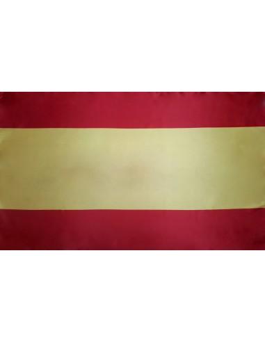 Bandera España Sin Escudo Estandar en Satén