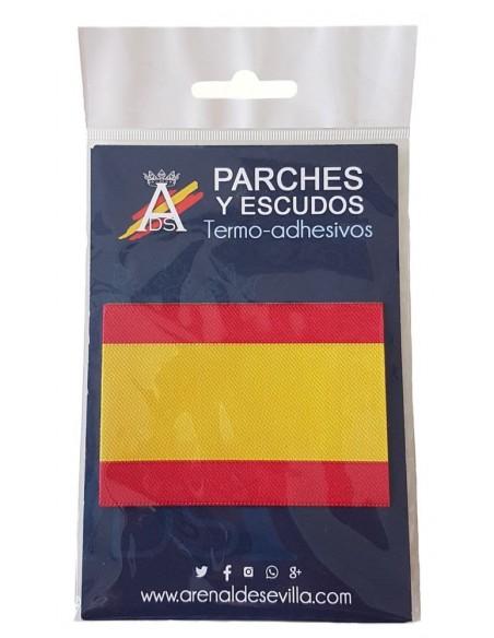 Parche Bandera España Sin Escudo
