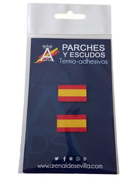 patch of Spain without shield