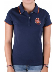 Spain Current Women's Polo Shirt