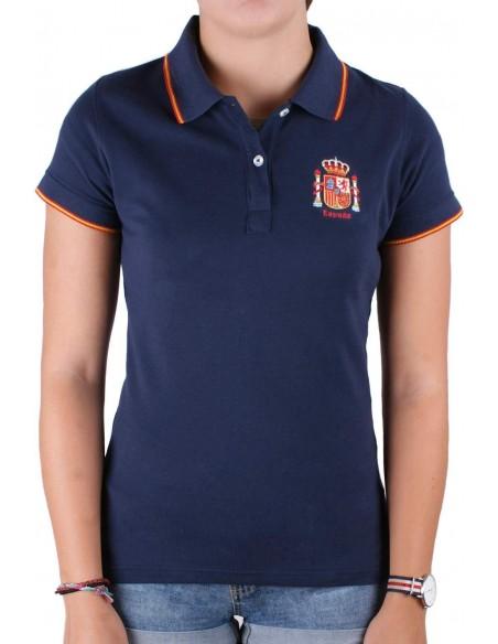 Spain Current Women's Polo Shirt