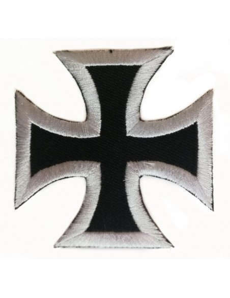 Blue Division Cross Embroidered patch