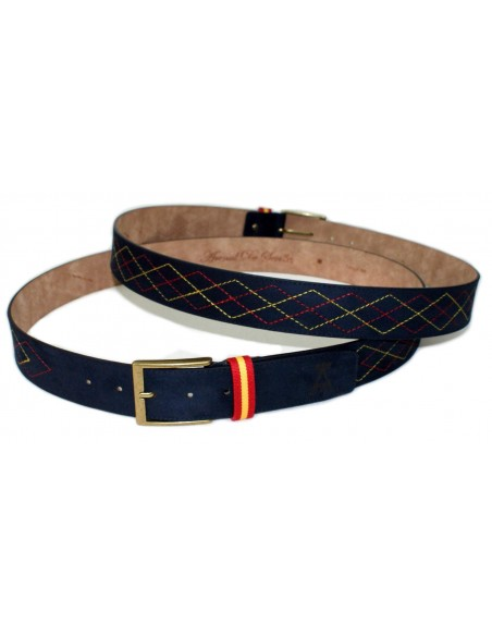 Serp Leather Belt Spain at Marino