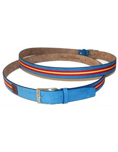 Spanish belt- light blue