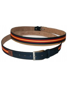 Serraje Belt Flag Spain Marino