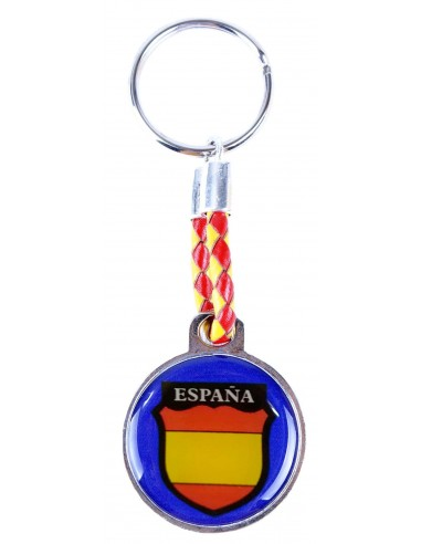 Blue Division Rounded Key Ring