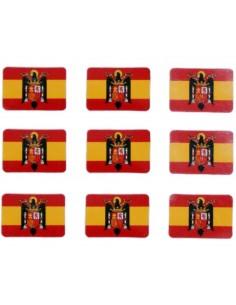 Pegatina Pack Bandera Águila Mini