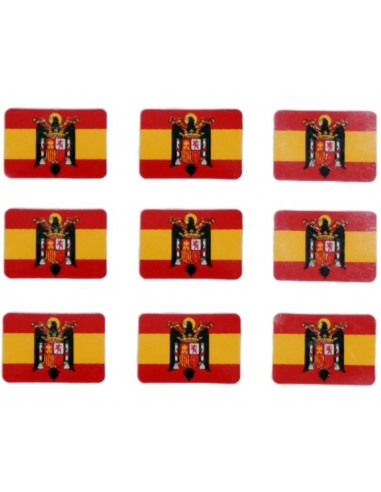 Eagle Spanish Flag Pack of Stickers