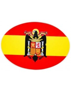 Oval Sticker Eagle San Juan