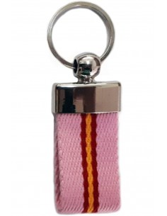 Keychain Loneta Rosa Flag Spain