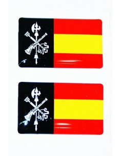 Spanish Legion Flag Stickers