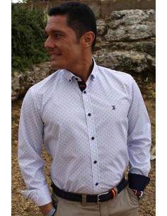 Premium Striped Shirt - Blue