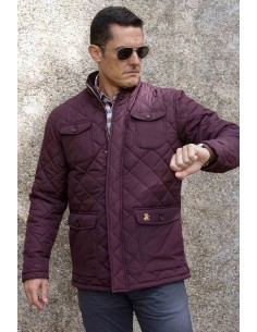 Knight Parka in Bordeaux