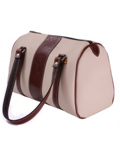 Arenal de Sevilla Handbag - Camel and Brown