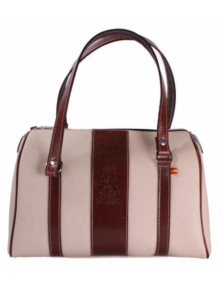 Camel / Brown pony hair bag