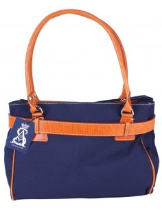 Arenal de Sevilla Handbag - Navy Blue