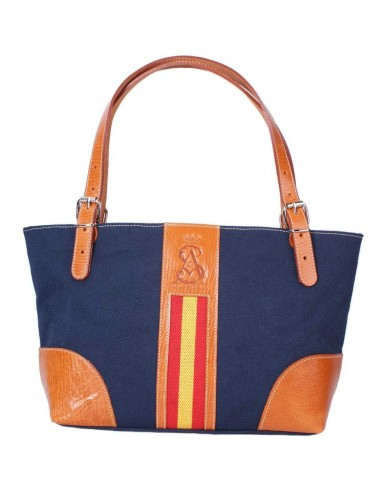 Spanish Flag Shopping Bag - Navy Blue