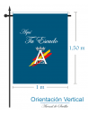Custom Your Flag (Vertical)