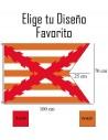 Bandera Impresa Raso Personalizada Tipo Medieval