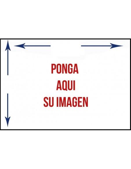Bandera Personalizada en Raso Impreso Horizontal
