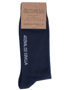Calcetines Aspas de Borgoña -Marino
