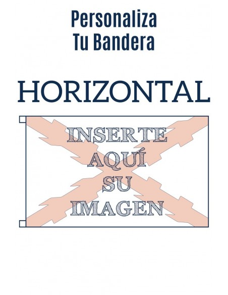 Bandera Personalizada Horizontal