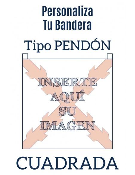 Bandera Pendón Personalizada.