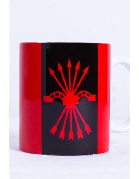 Falange's badge cup