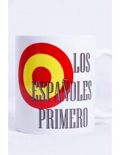 Taza Cerámica Los Españoles Primero