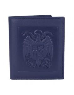 Cartera Caballero Águila San Juan Azul con Bolsillo