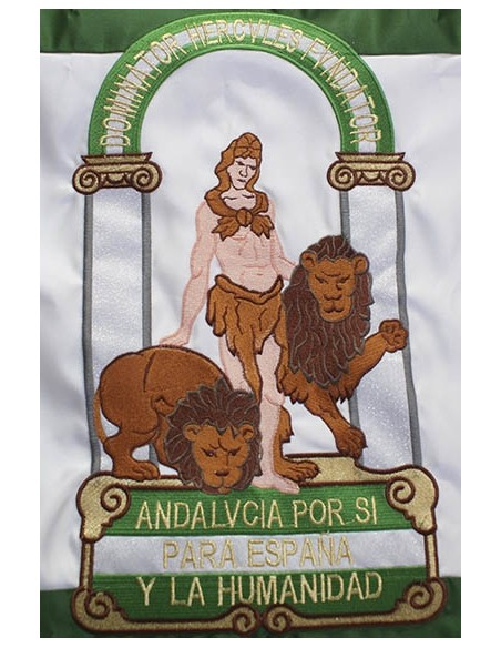 Bandera Bordada Andalucia