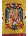 Manually Embroidered San Juan Eagle Spanish Flag