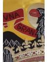 Manually Embroidered San Juan Eagle Spanish Flag