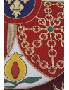 Manually Embroidered Royal Flag of Felipe VI