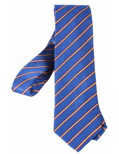 Striped Tie - Blue