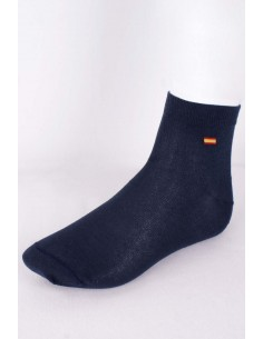 Spanish Flag Socks - Navy Blue