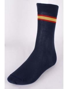 Calcetines Marinos con Bandera de España