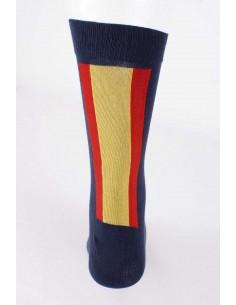 Spanish Flag Socks - Navy Blue
