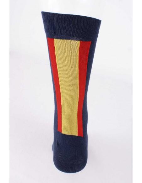 Calcetines  Marinos  con Bandera de Espana