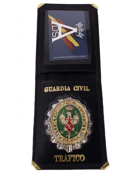 Cartera Placa Guardia Civil Tráfico