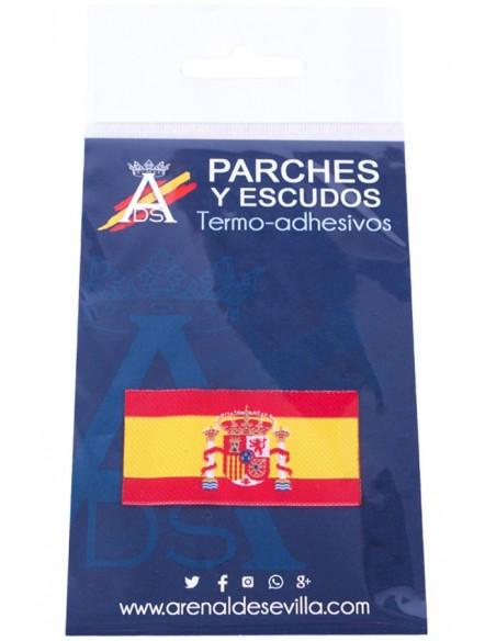 Parche Bandera España Con Escudo