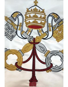 Vatican Flag Machine Embroidered
