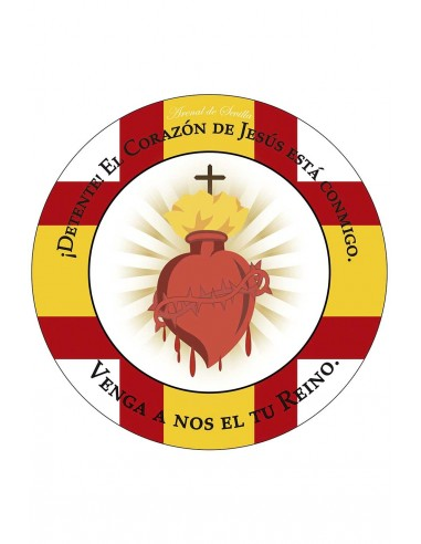 Sacred Heart rug.