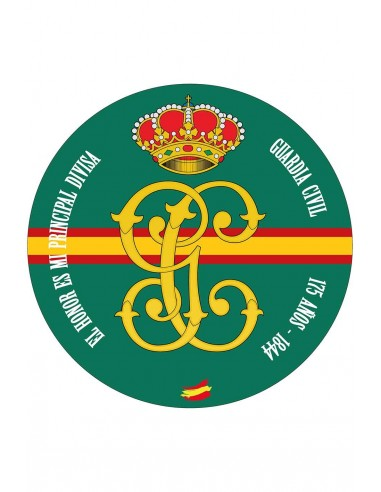 Alfombrilla Guardia Civil 1844